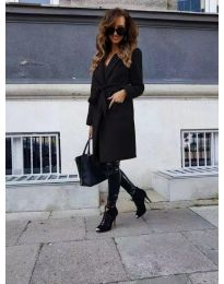 Kabát - kód 7940 - čierná