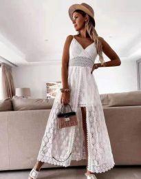 Šaty - kód 2704 - biela