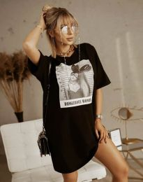 Šaty - kód 2919 - čierná