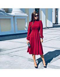 Šaty - kód 4572 - červená