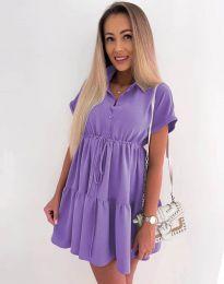 Šaty - kód 8889 - fialová
