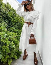 Šaty - kód 0597 - 1 - biela
