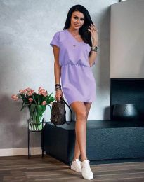 Šaty - kód 3214 - svetlo fialová