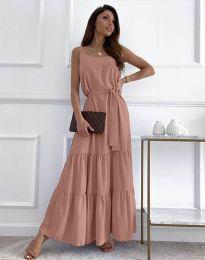 Šaty - kód 2578 - pudrová
