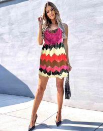 Šaty - kód 0969 - 3 - farebná