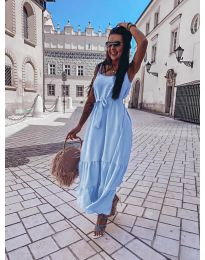 Šaty - kód 1230 - modrý