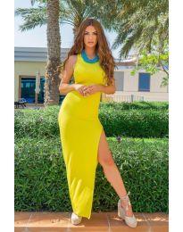 Šaty - kód 11966 - žltá
