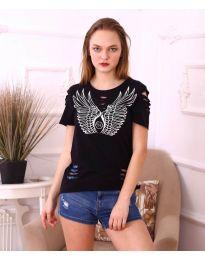 Tričko - kód 3567 - čierná