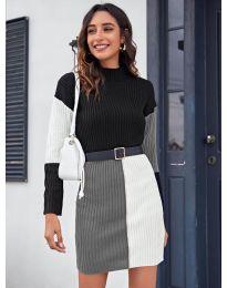 Šaty - kód 9935 - 5 - viacfarebné