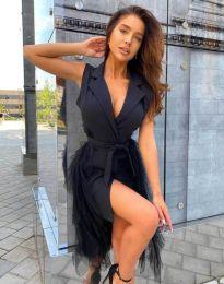 Šaty - kód 2256 - 1 - čierná