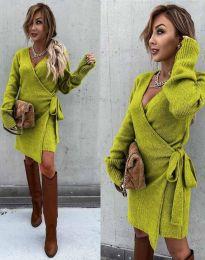 Šaty - kód 9846 - zelená