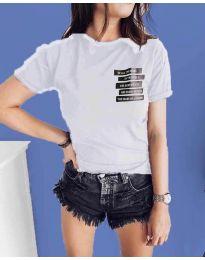 Tričko - kód 437 - biela