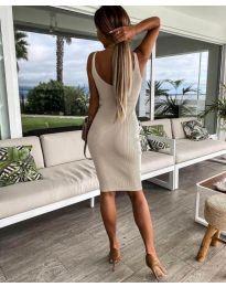 Šaty - kód 4301 - bežová