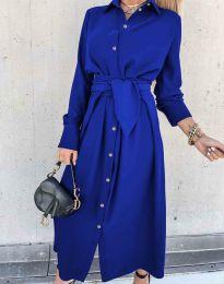 Šaty - kód 1860 - modrá