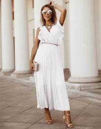 Šaty - kód 3320 - biela