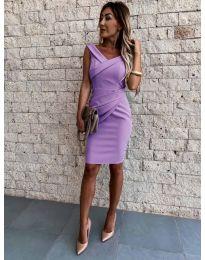 Šaty - kód 1104 - fialová