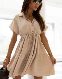 Šaty - kód 6292 - bežová