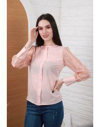 Blúza - kód 0631 - 4 - ružová