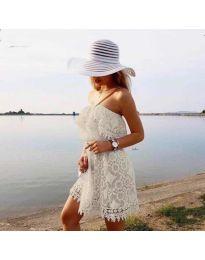 Šaty - kód 4849 - biela