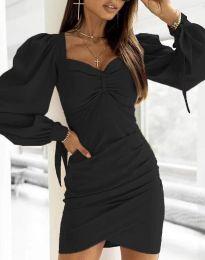 Šaty - kód 0363 - čierná