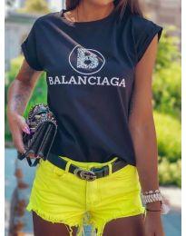 Tričko - kód 5357 - čierná