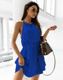 Šaty - kód 9968 - tmavomodrá