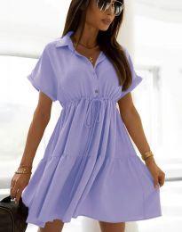 Šaty - kód 6292 - svetlo fialová