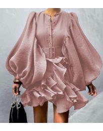 Šaty - kód 2819 - ružová