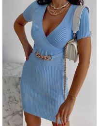 Šaty - kód 4305 - svetlo modrá