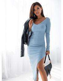 Šaty - kód 12070 - svetlo modrá