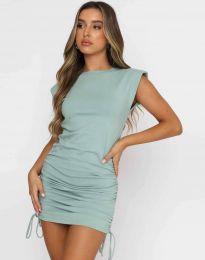 Šaty - kód 11985 - mentolová