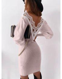 Šaty - kód 1718 - ružová