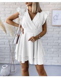 Šaty - kód 409 - biela