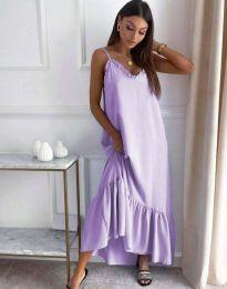 Šaty - kód 4671 - svetlo fialová