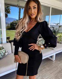 Šaty - kód 2917 - čierná