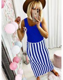 Šaty - kód 5544 - modrá