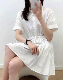 Šaty - kód 6292 - biela