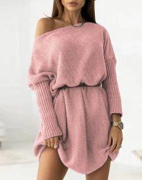 Šaty - kód 6940 - pudrová