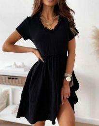 Šaty - kód 1679 - 3 - čierná