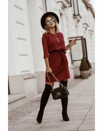Šaty - kód 6100 - bordeaux