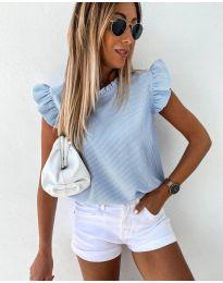 Tričko - kód 982 - modrý