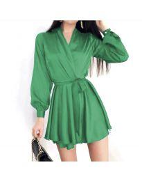 Šaty - kód 8754 - zelená