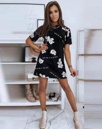 Šaty - kód 2906 - čierná