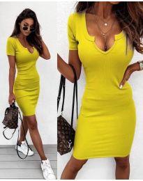 Šaty - kód 8829 - žltá