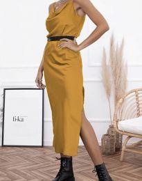 Šaty - kód 6231 - hořčičná