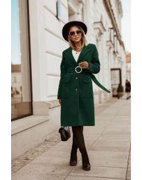 Kabát - kód 5657 - olivová  zelená