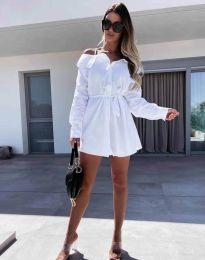 Šaty - kód 1457 - biela