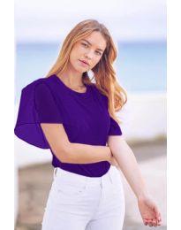 Tričko - kód 527 - tmavě fialová