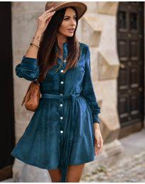 Šaty - kód 3999 - modrá