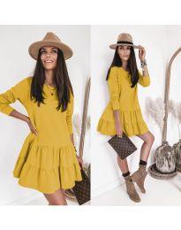 Šaty - kód 8486 - žltá